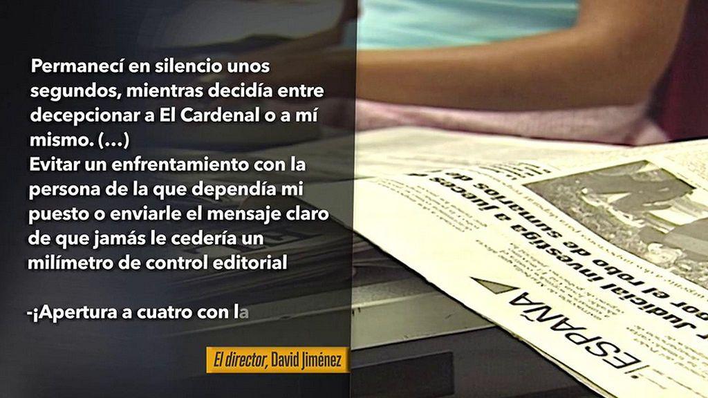 Villarejo, Bárcenas... Desentrañamos la verdad de las cloacas del periodismo, a través del libro 'El Director' de David Jiménez