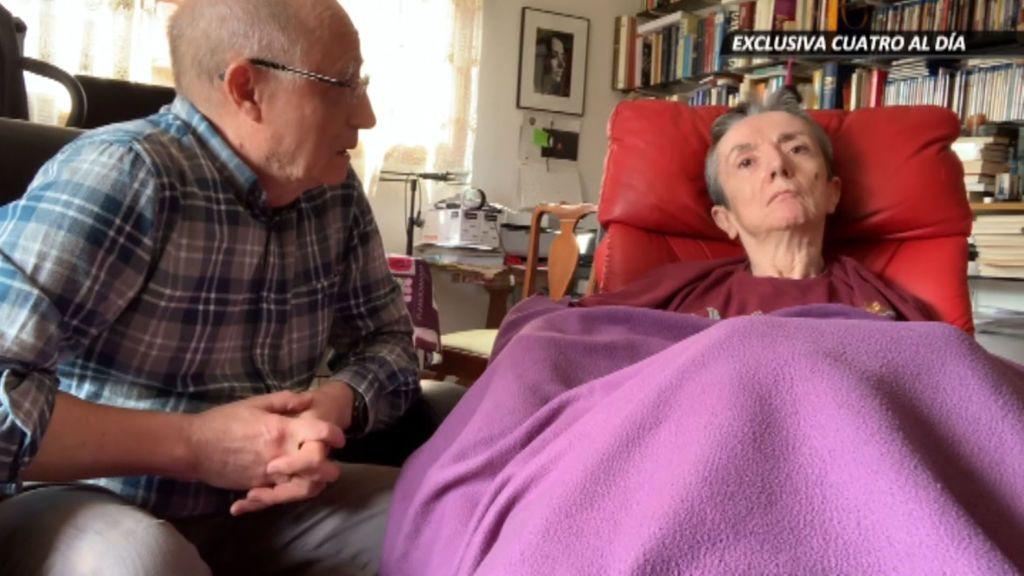 """""""¿Te quieres suicidar?"""": el marido de María José grabó su consentimiento un día antes de su muerte"""