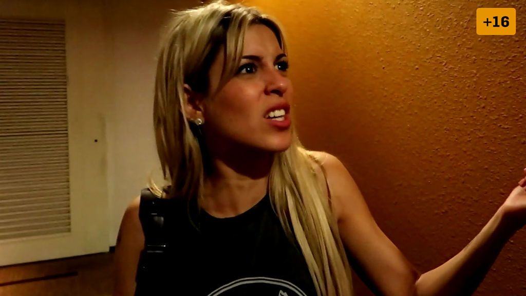 Capítulo 36: Oriana vuelve a discutir con su novio en presencia de Barranco