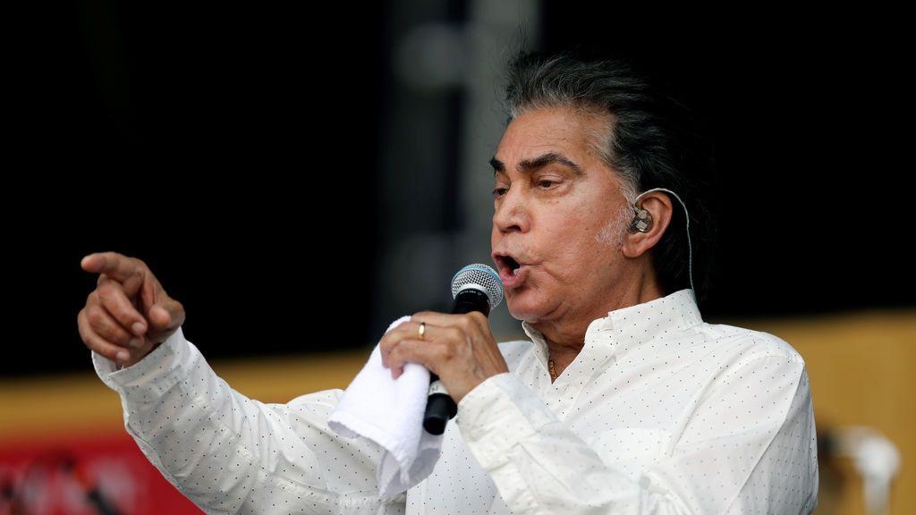 """El cantante El Puma se postula """"para una posible candidatura presidencial"""" en Venezuela"""