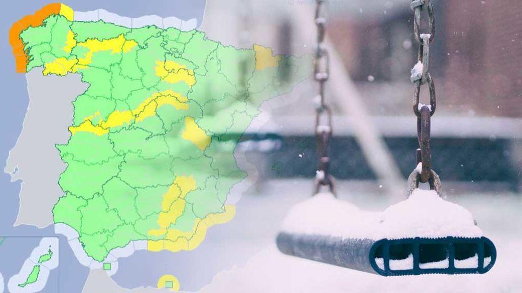 Dónde va a nevar más el fin de semana: hay avisos en más de 15 provincias por nevadas