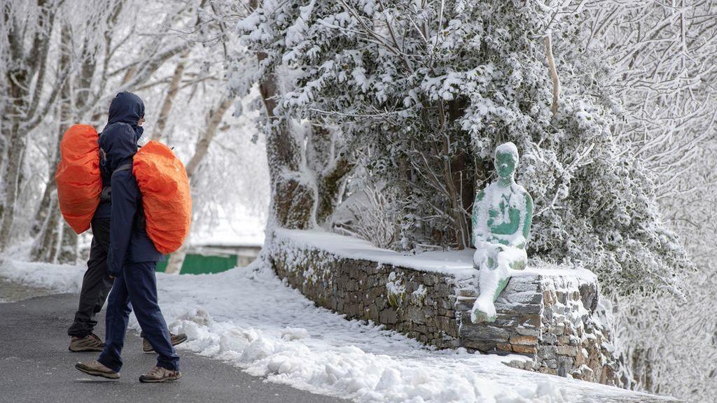 Vuelven las nevadas y el frío a España