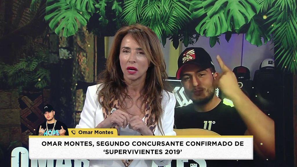 Las primeras palabras de Omar Montes tras conocerse que formará parte de 'Supervivientes 2019'