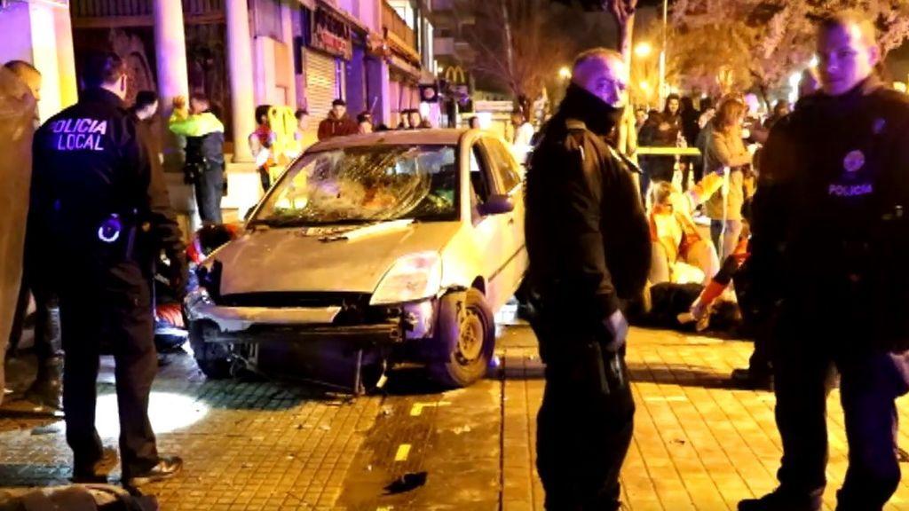 Atropello intencionado en Palma de Mallorca deja 4 heridos: buscan al conductor