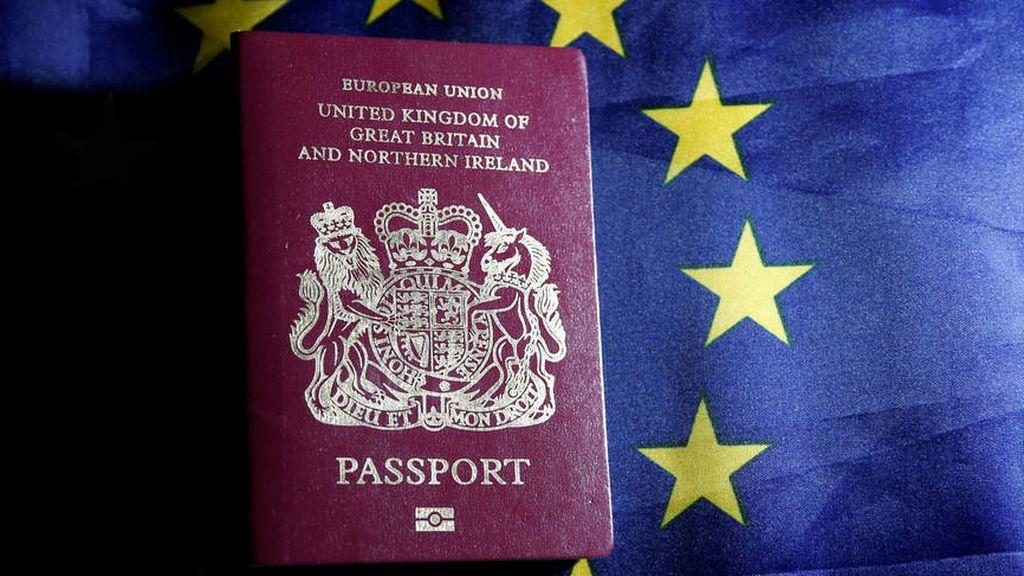Reino Unido ya emite pasaportes sin las palabras Unión Europea en la portada