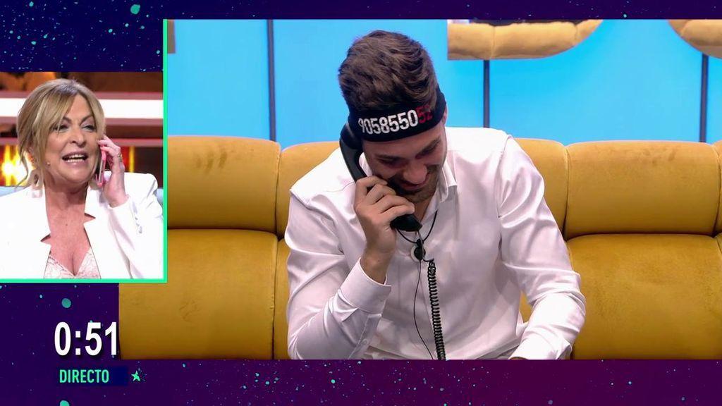 """Alejandro recibe el apoyo de su madre por teléfono: """"Te has dejado la vida entera ahí"""""""