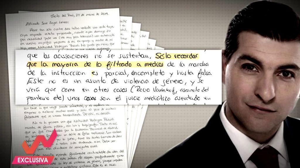 Un grafólogo analiza la sorprendente carta que 'El rey del cachopo' ha enviado a 'Viva la vida'