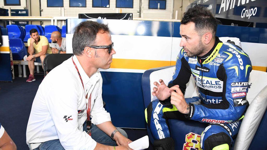 ¡Roban la moto de Héctor Barberá, que se queda sin poder correr la carrera de Supersport, y su equipo dice que la tiene él!