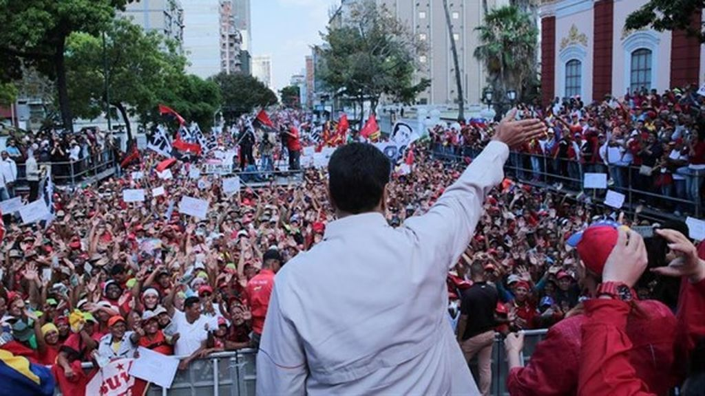 """Maduro acusa a EEUU, Chile y Colombia de ser causantes del """"ataque"""" en forma de apagones"""