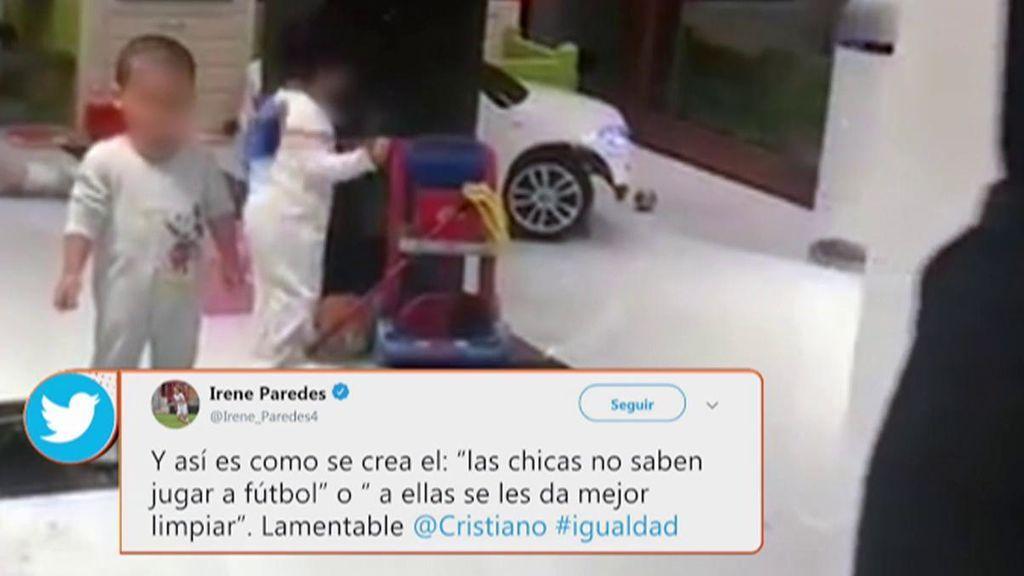 """""""A ellas se les da mejor limpiar; lamentable Cristiano"""": el fútbol femenino explota ante el último vídeo del portugués"""