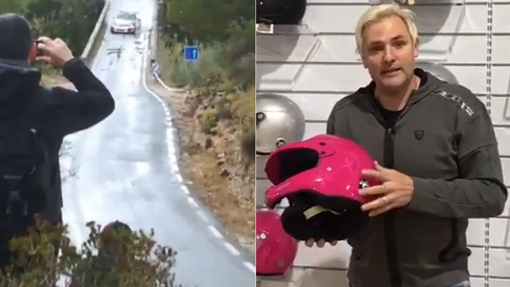 El trompo de Santi Cañizares con el que alucina Iago Aspas y con el que evitó un accidente en un rally