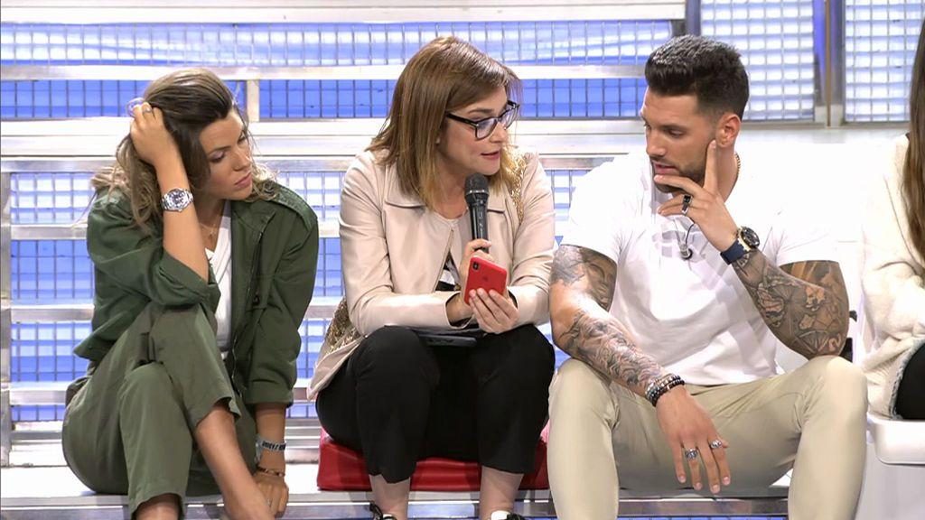 """Barranco enseña sus mensajes con Oriana: """"Lo siento niña, no quería mentir"""""""