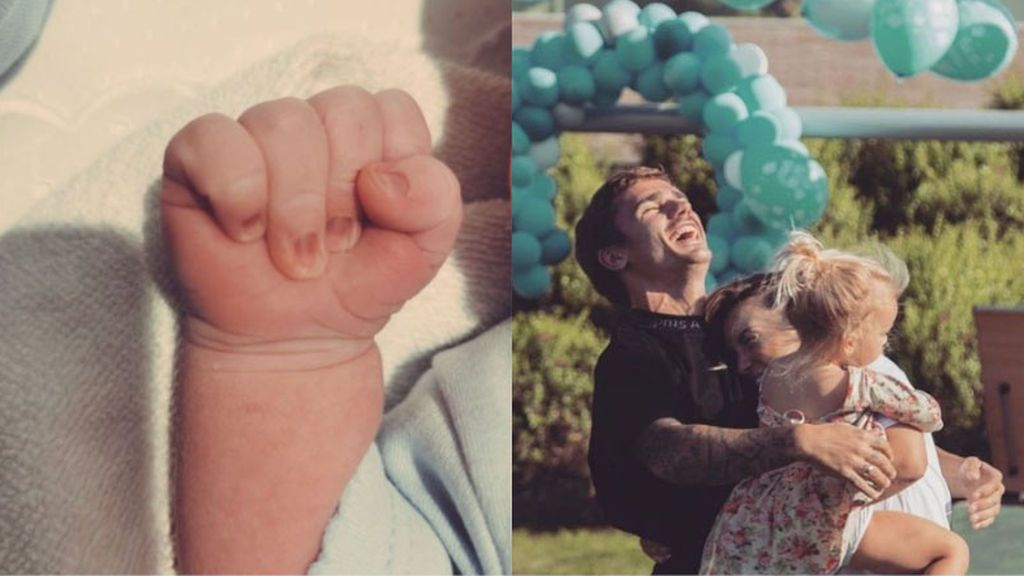 Griezmann vuelve a ser papá por segunda vez el mismo día