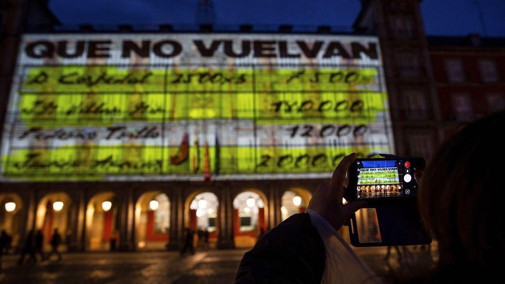 Podemos reitera que recibió permiso del Ayuntamiento de Madrid para la proyección de los papeles de Bárcenas