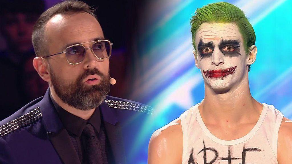 """Arias Joker hipnotiza bailando pero decepciona a Risto Mejide: """"Es imperdonable"""""""