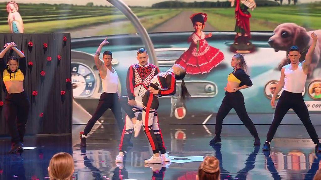 """Artax se supera con su coreografía fusión y Risto vaticina: """"Os veo de teloneros de Rosalía"""""""