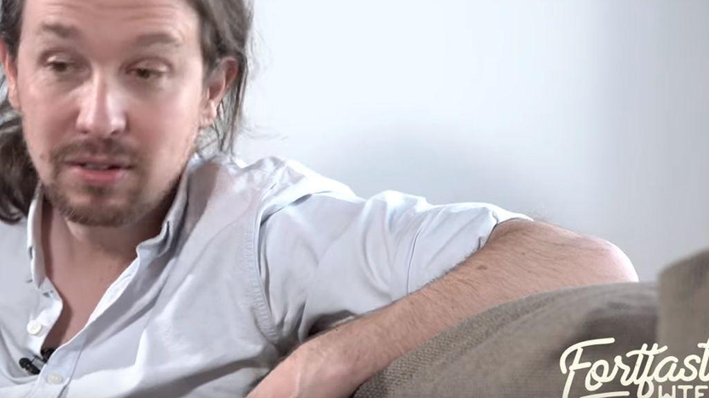 """Iglesias 'imita' el lenguaje de Colau en su entrevista con el Youtuber FortFast: """"Votad, cabrones"""""""
