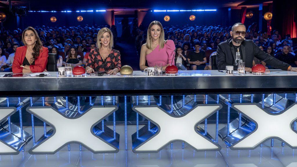 'Got Talent España' (22,4% y 2.277.000) repite su mejor dato de share de la temporada
