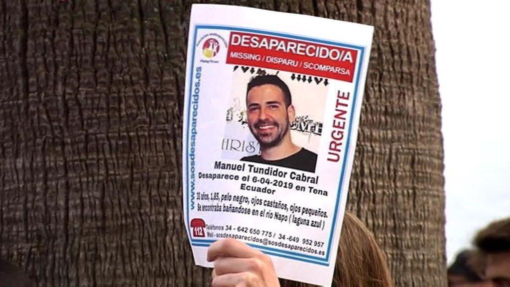 Sin rastro de Manuel Tundidor, desaparecido mientras se bañaba en un río en Ecuador
