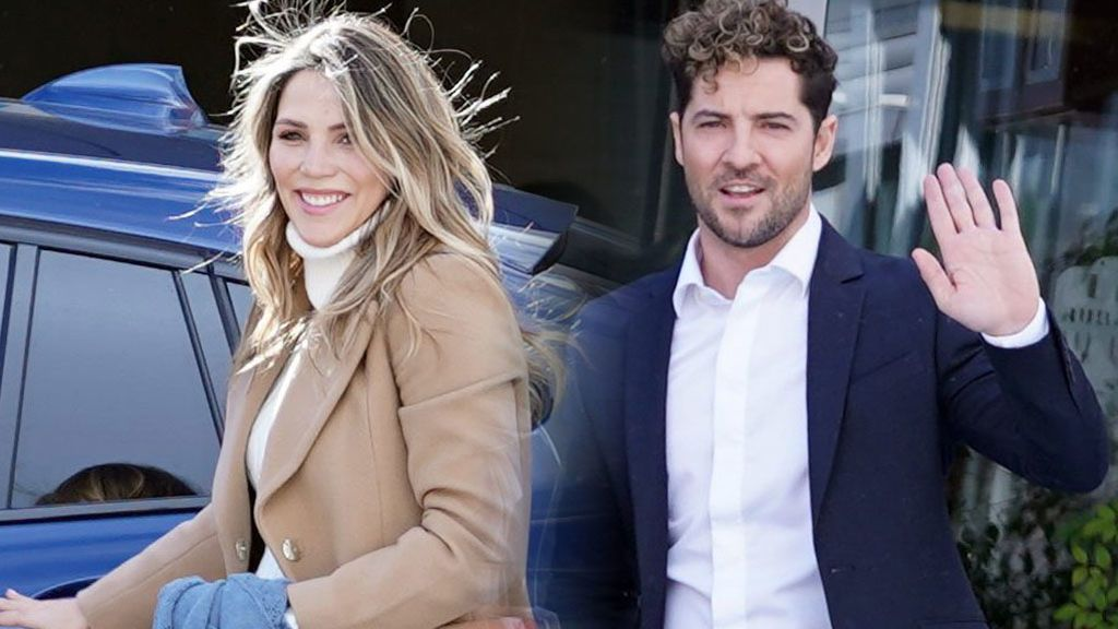 Rosanna Zanetti y David Bisbal abandonan el hospital