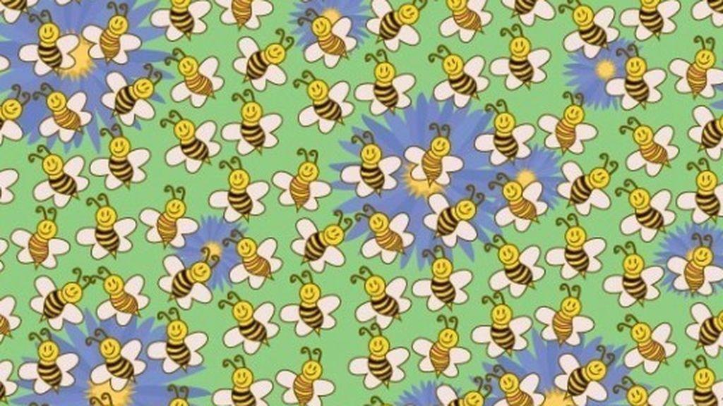 Más allá de la colmena: encuentra al impostor entre la multitud de abejas