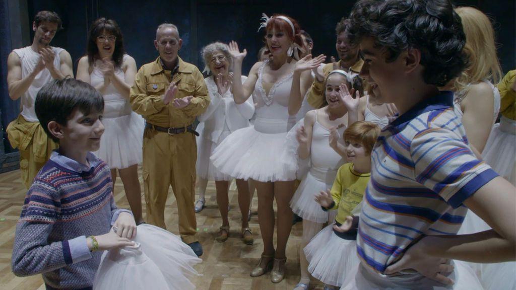 Diego cumple su deseo de convertirse en Billy Elliot por un día