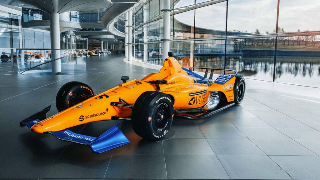 Los detalles del nuevo coche de Fernando Alonso para las 500 Millas de Indianápolis