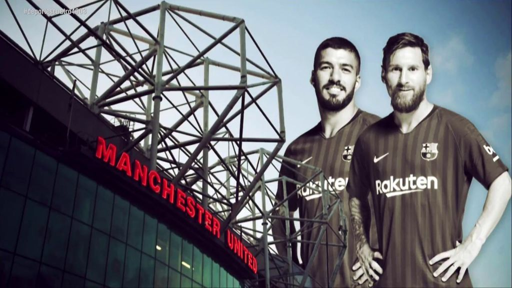 Leo Messi y Luis Suárez, la pareja de los sueños que amenaza Old Trafford