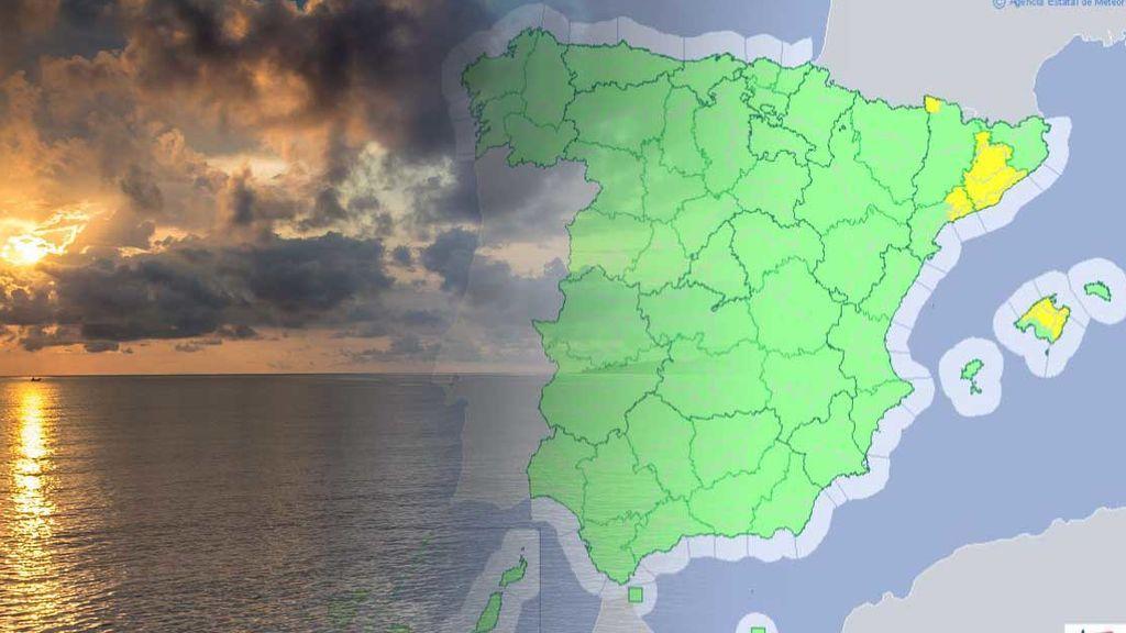 Avisos por tormentas en Cataluña y Baleares: se esperan nuevas granizadas el miércoles