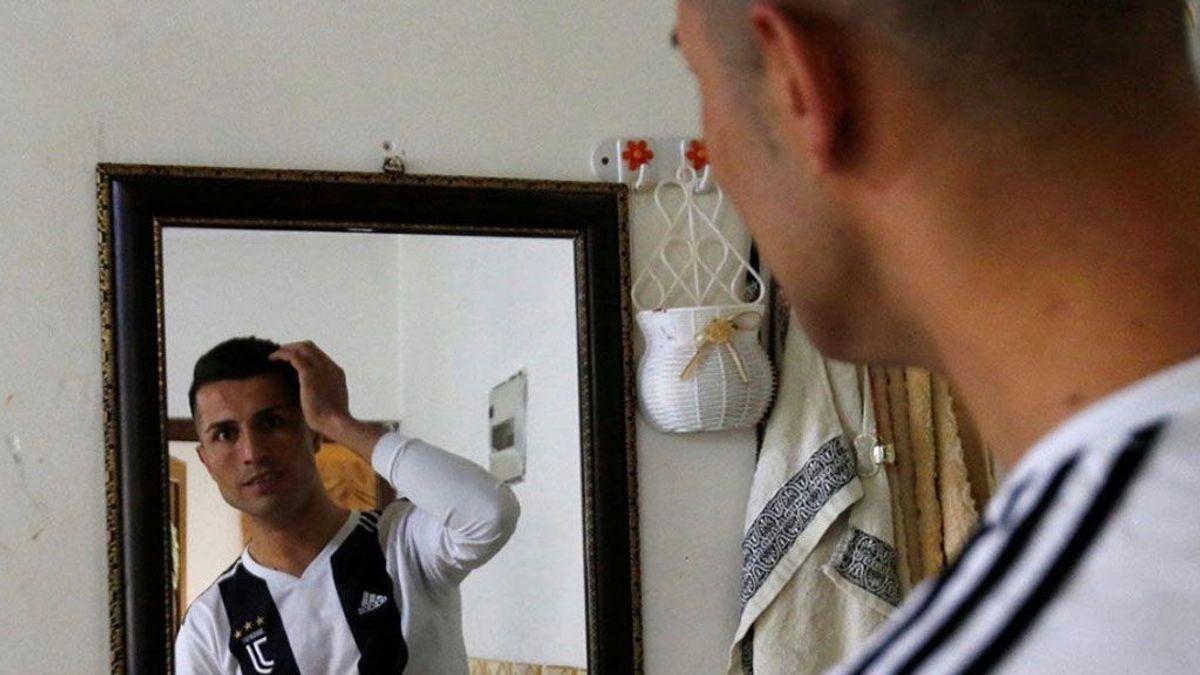 La lujosa vida de Biwar Andullah, el doble de Cristiano Ronaldo en Iraq: viajes, entrevistas, compras