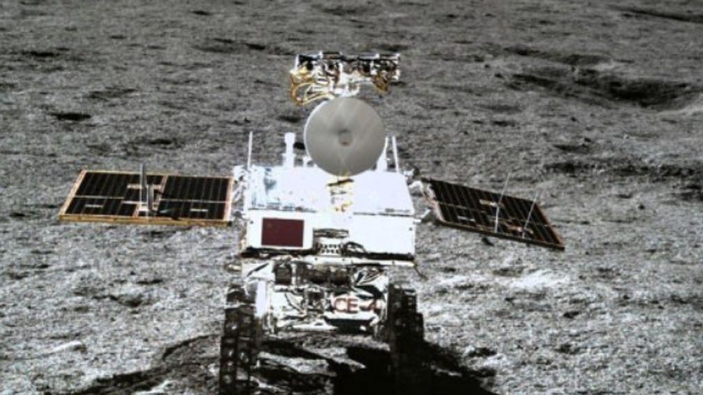 El rover chino en la Luna se protege del calor con una 'siesta'