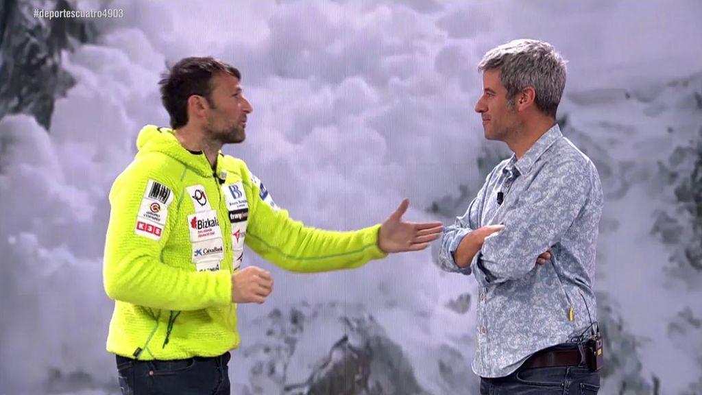 """Alex Txikon, sobre la ascensión al K2: """"En esta subida te estas jugando la vida desde que pasas de campamento uno"""""""