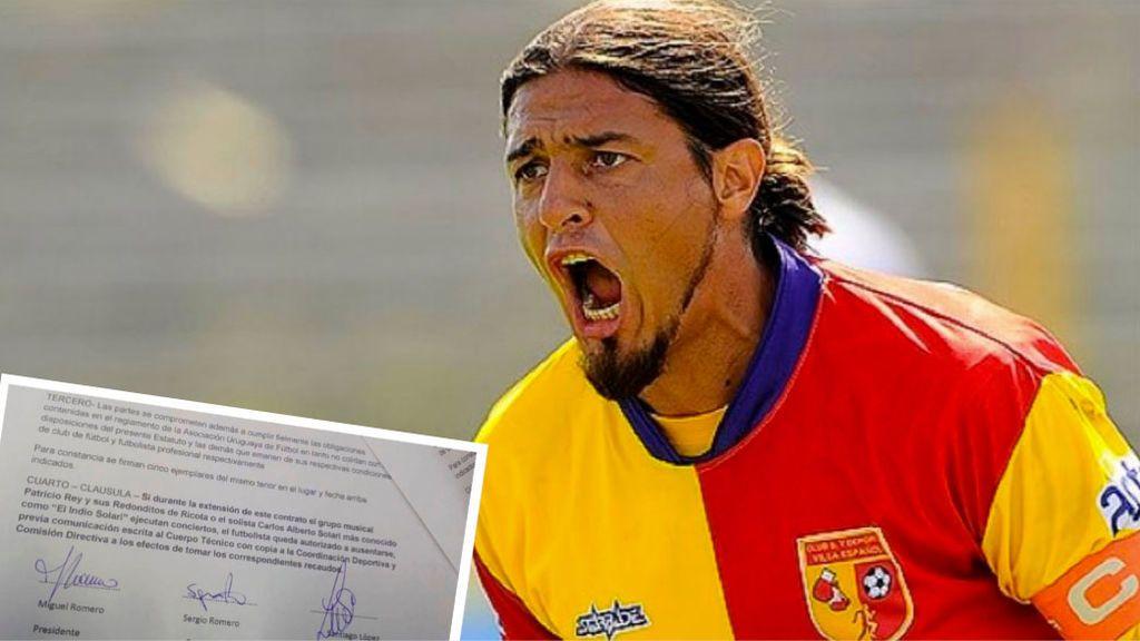 La curiosa clausula que añadió un futbolista uruguayo a su contrato: No jugar cuando hubiese concierto de su cantante favorito