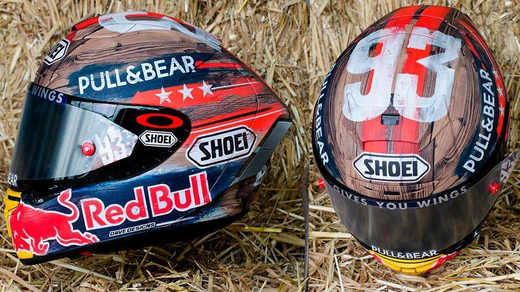 El espectacular casco inspirado en los rodeos que Marc Márquez usará en Austin