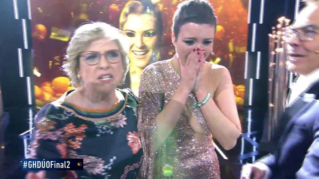 María Jesús le gana el duelo a Kiko Rivera y se convierte en la flamante ganadora de 'GH DÚO'