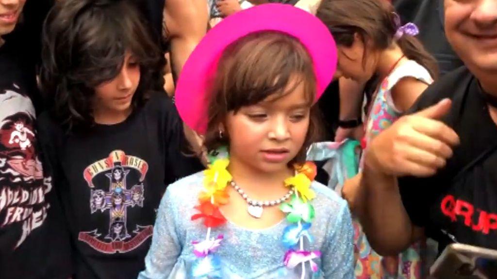 Sorpresa motera para Francesca: le dan una gran fiesta a la niña que se quedó sola en su cumpleaños
