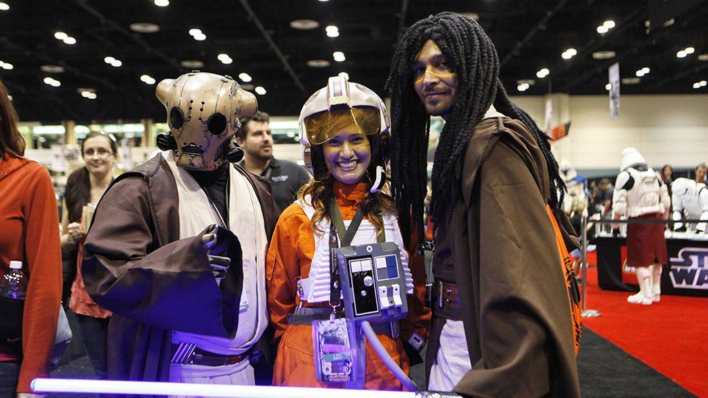 Fan en la Star Wars Celebration