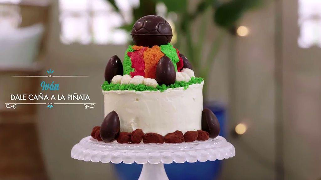 'Busca en su interior': la tarta de cumpleaños infantil de Ivan, paso a paso