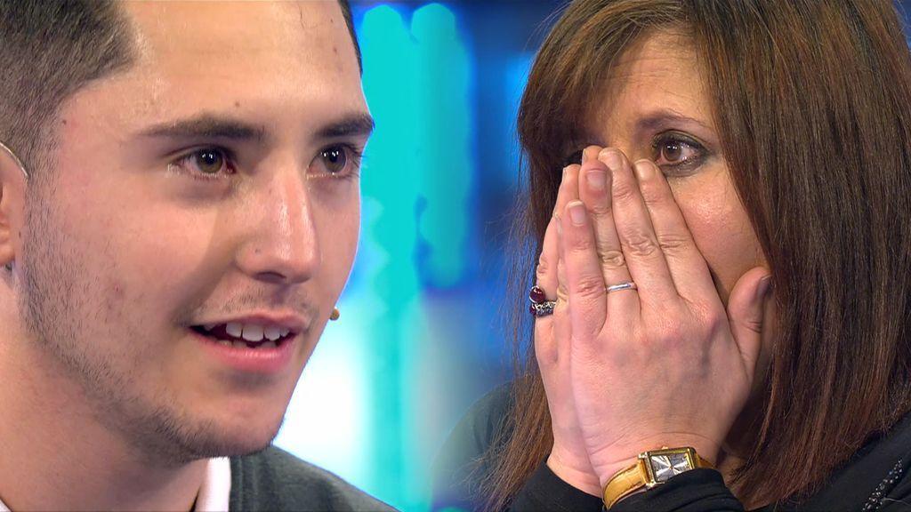 Javier se reencuentra con su madre 22 años después