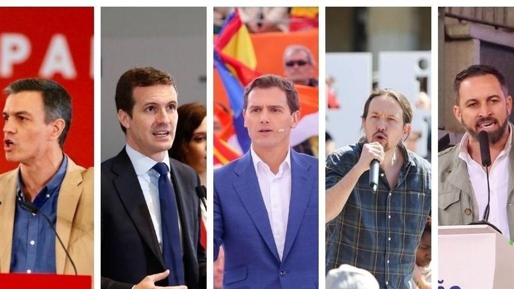 Los partidos se movilizan en el arranque de la campaña electoral del 28-A