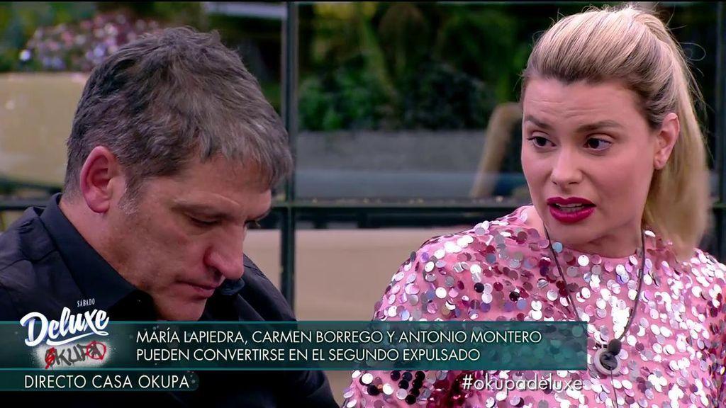 Gustavo y María discuten y sucede lo más inesperado: la casa se posiciona a favor de ella