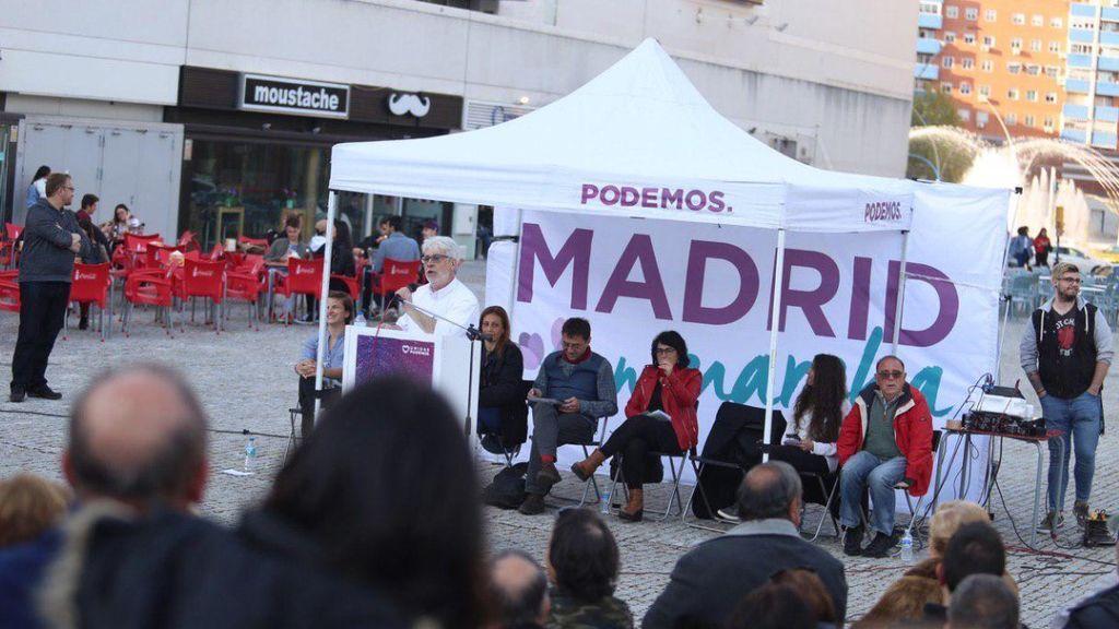 Podemos, IU y los Anticapitalistas crean una candidatura conjunta para las elecciones autonómicas de Madrid