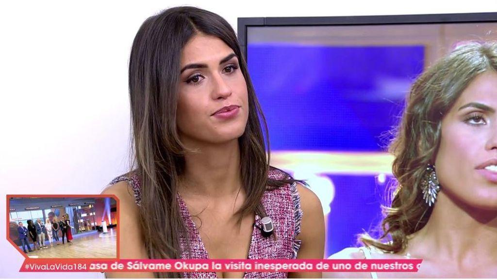 Sofía rompe a llorar antes de empezar a hablar de su relación con Albalá