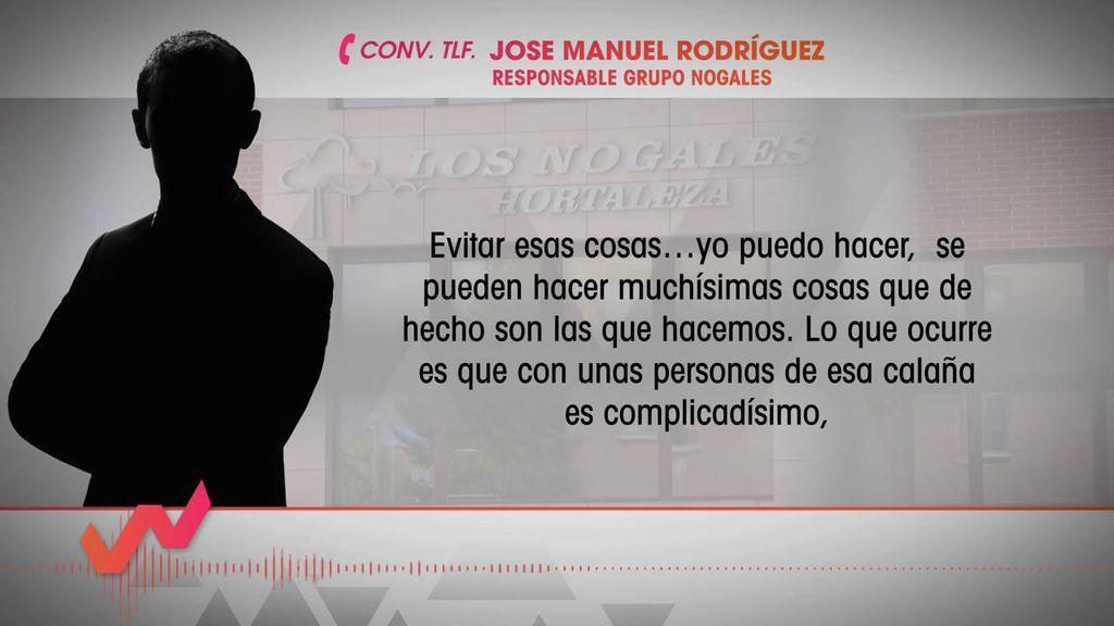 """Responsable del Grupo Los Nogales: """"La dirección de la residencia no era conocedora de los malos tratos"""""""