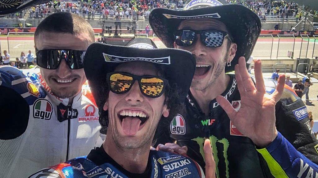 Álex Rins logra su primera victoria en MotoGP en Austin tras la caída de Márquez