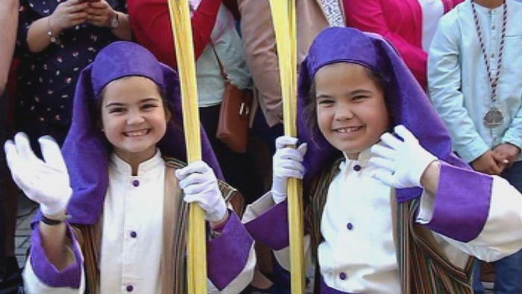 Sol, 'Pollinica' y palmas artesanales: arranca la Semana Santa