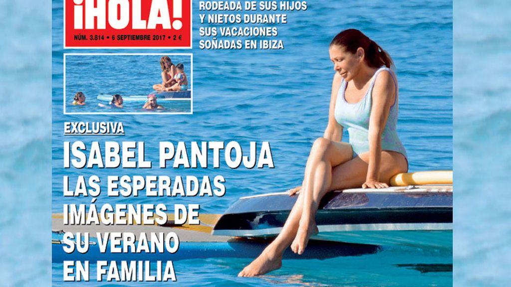 La última portada de Isabel Pantoja en bañador no dejó a nadie indiferente