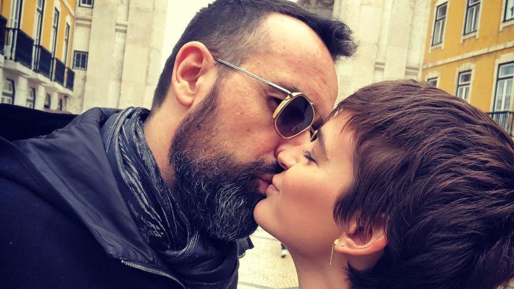 Risto Mejide juega a 'buscar las diferencias' en su última foto con Laura Escanes