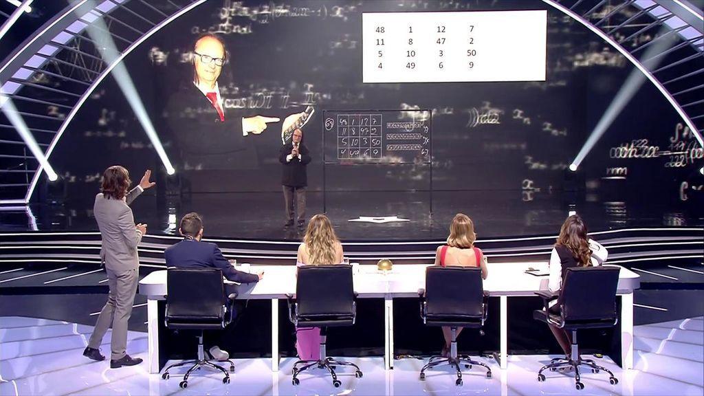 """José Bono, 'la calculadora humana', se supera en las semifinales: """"Este hombre tiene que ir a la NASA"""""""