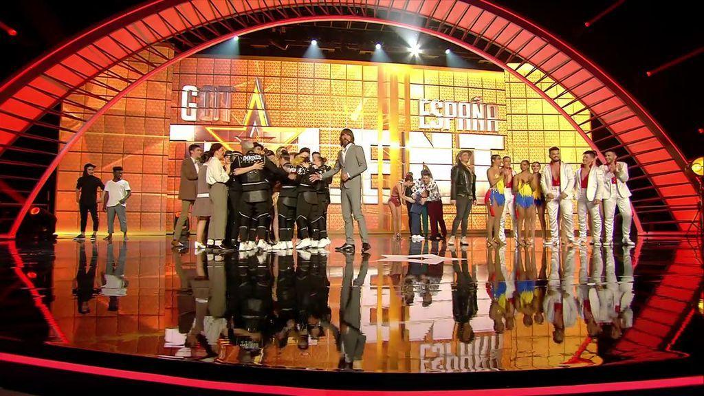 El público elige a D'oo Wap y el jurado a Inmunes para estar en la final de 'Got Talent 4'